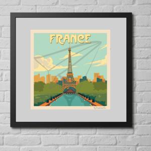 affiche vintage France
