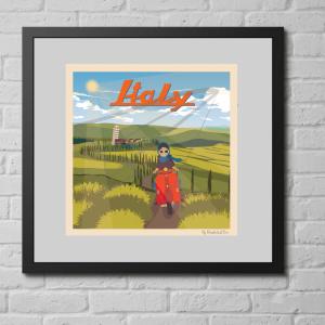 affiche vintage italie